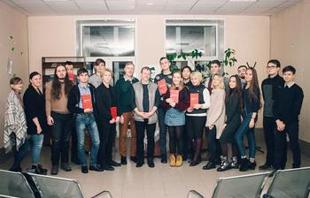 Литературный вечер в библиотеке ТУСУРа